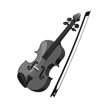 Vector illustration of music and tune logo. Collection of music and tool stock symbol for web. Banque d'images - 115711495