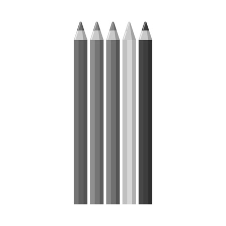 Isolated object of office and supply symbol. Set of office and school stock symbol for web. Stock Illustratie