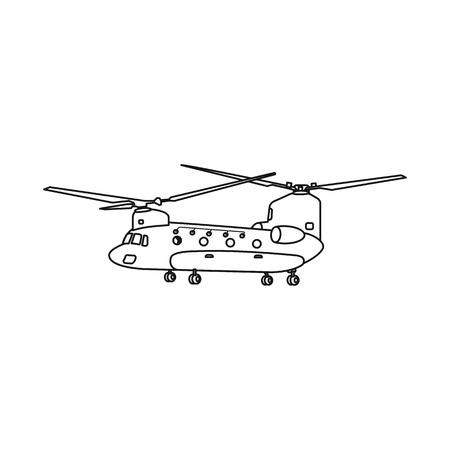 Vector illustration of plane and transport symbol. Collection of plane and sky vector icon for stock. Illustration