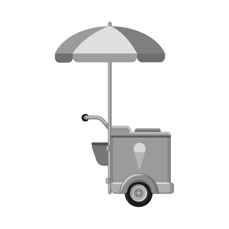 Isolated object of market and exterior symbol. Set of market and food vector icon for stock.