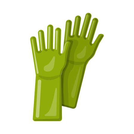 Vector design of cleaning and service symbol. Collection of cleaning and household vector icon for stock. Illustration