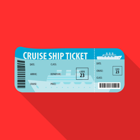 Vector design of ticket and admission sign. Collection of ticket and event vector icon for stock.