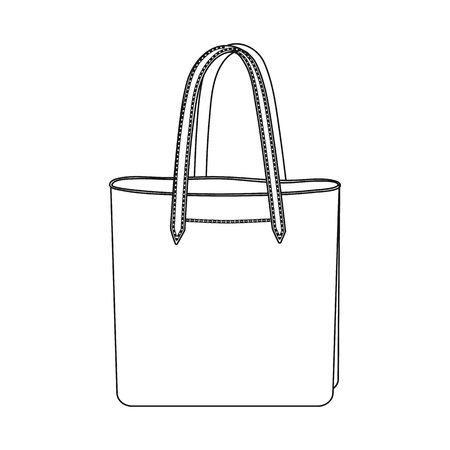 Objeto aislado del símbolo de maleta y equipaje. Colección de icono de vector de maleta y viaje para stock. Ilustración de vector