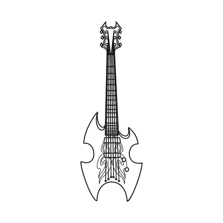 Vector illustration of music and tune logo. Collection of music and tool stock vector illustration.