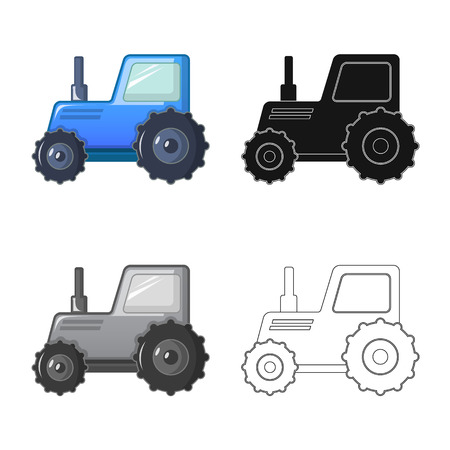 Vector design of farm and agriculture icon. Set of farm and plant vector icon for stock. Иллюстрация