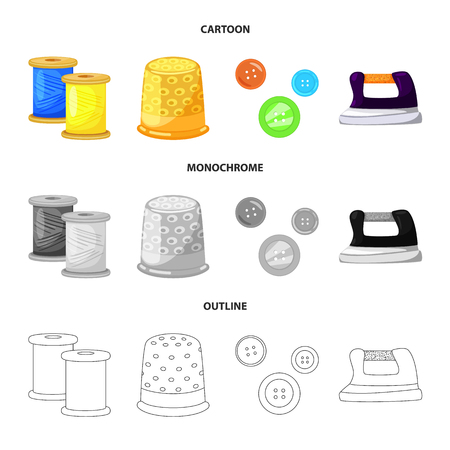 Vector illustration of craft and handcraft icon. Collection of craft and industry stock vector illustration.
