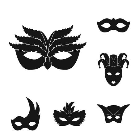Vector design of luxury and celebration symbol. Collection of luxury and hide  stock symbol for web.