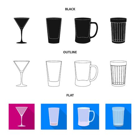 Vector design of form and celebration sign. Collection of form and volume stock vector illustration. Ilustração