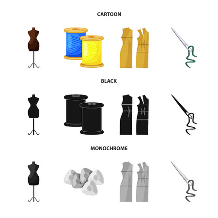 Vector design of craft and handcraft symbol. Set of craft and industry stock symbol for web.