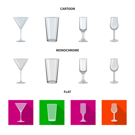Vector design of form and celebration symbol. Collection of form and volume stock symbol for web.
