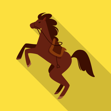 Vector design of horse and animal icon. Collection of horse and running stock symbol for web.