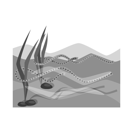 Isolated object of wetland and grass sign. Collection of wetland and ecology vector icon for stock.