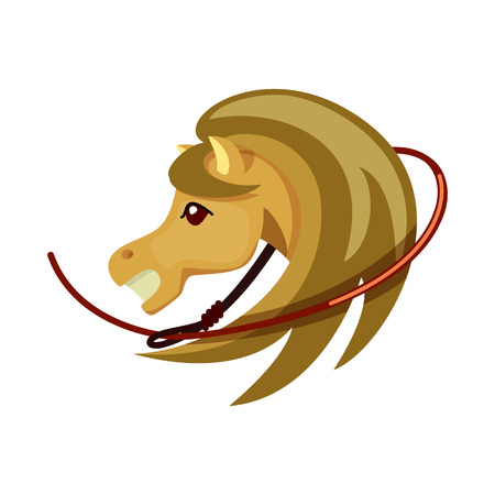 Isolated object of horse and race icon. Set of horse and animal stock symbol for web. 版權商用圖片 - 123339420