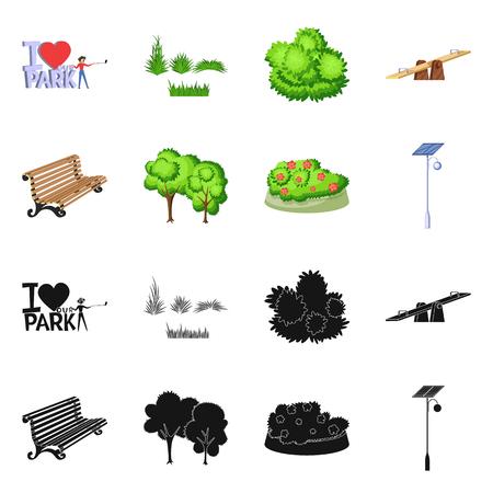 Conception vectorielle du logo urbain et de la rue. Collection d'illustration vectorielle stock urbain et détente. Logo