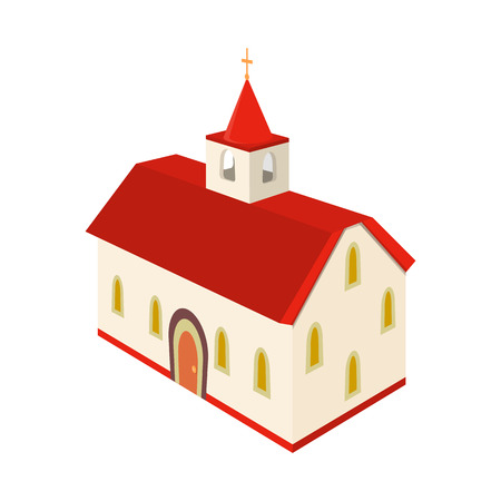 Vector design of church and cathedral symbol. Collection of church and cross stock symbol for web.