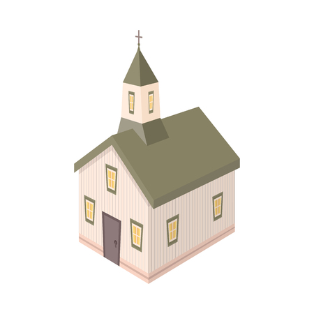 Vector illustration of church and christian logo. Set of church and steeple vector icon for stock.