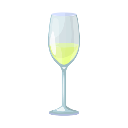 Vector design of wine and glass icon. Set of wine and transparent stock vector illustration.
