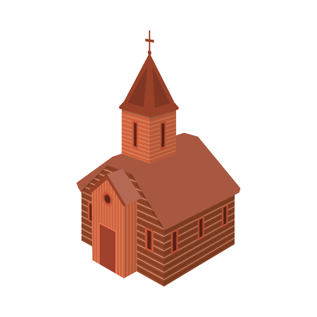 Isolated object of church and orthodox symbol. Collection of church and chapel stock symbol for web.