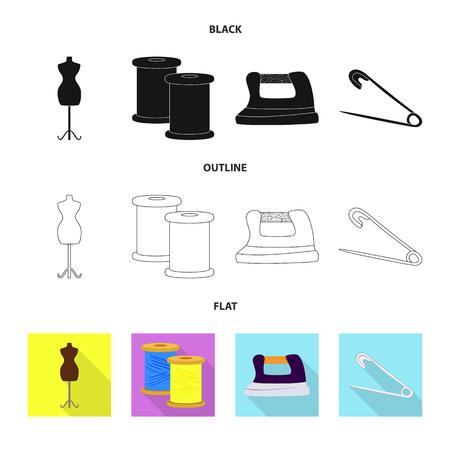 Conception de vecteur d'icône d'artisanat et d'artisanat. Collection d'icônes vectorielles artisanales et industrielles pour le stock.
