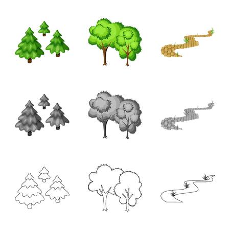 Conception de vecteur de signe urbain et de rue. Collection d'illustration vectorielle stock urbain et détente.