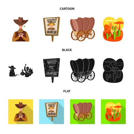 Ilustración de vector de texas y símbolo de la historia. Colección de texas y cultura vector icono de stock.