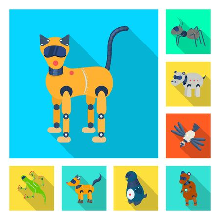 Isolated object of toy and science logo. Set of toy and toy vector icon for stock.