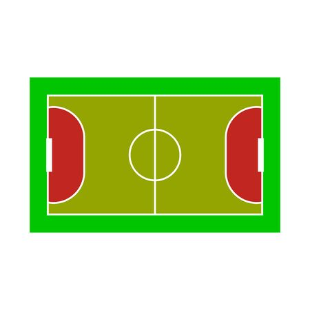 Isolated object of stadium and football logo. Set of stadium and soccer stock symbol for web.