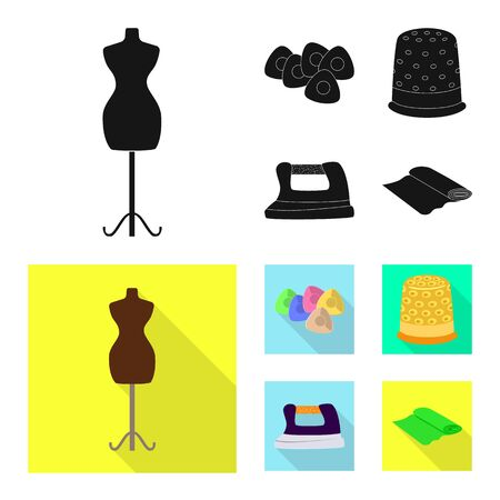 bitmap design of craft and handcraft. Set of craft and industry bitmap icon for stock. Stok Fotoğraf