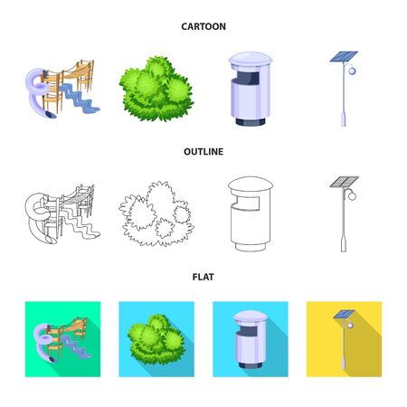 bitmap design of urban and street icon. Collection of urban and relaxation stock bitmap illustration.