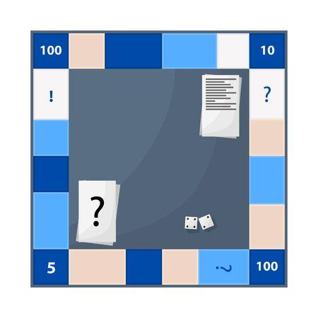 Vector design of game. Set of game and landmark stock vector illustration.