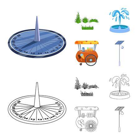 bitmap illustration of urban and street icon. Set of urban and relaxation bitmap icon for stock. Stock Photo
