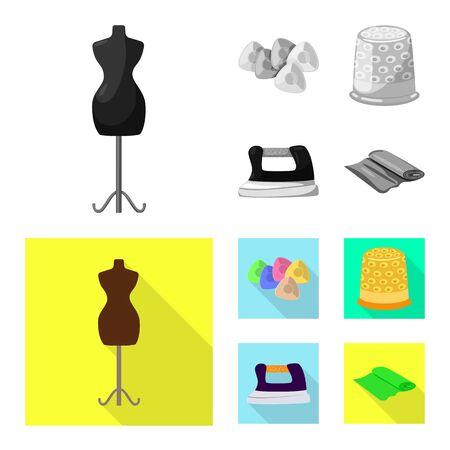 bitmap illustration of craft and handcraft icon. Collection of craft and industry stock bitmap illustration. Stok Fotoğraf