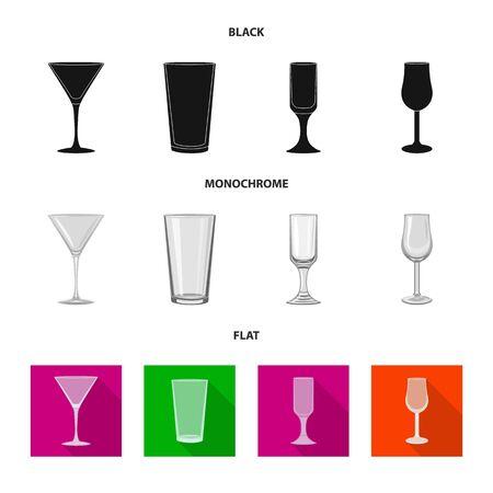 bitmap design of form and celebration sign. Collection of form and volume bitmap icon for stock.