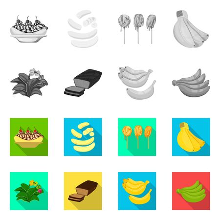 bitmap illustration of natural and vegetarian icon. Collection of natural and eating stock bitmap illustration. Reklamní fotografie