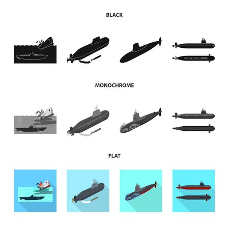 bitmap illustration of war and ship. Collection of war and fleet stock symbol for web.