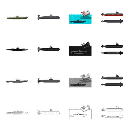 bitmap design of war and ship symbol. Collection of war and fleet bitmap icon for stock. Фото со стока
