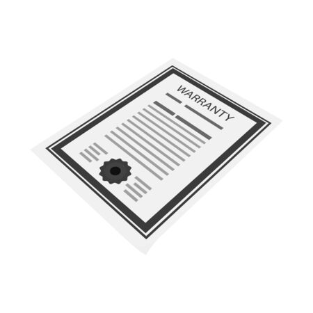 Isolated object of blank and template icon. Set of blank and letter stock vector illustration.