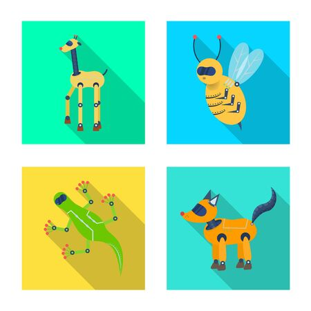 Isolated object of toy and science. Collection of toy and toy stock vector illustration.