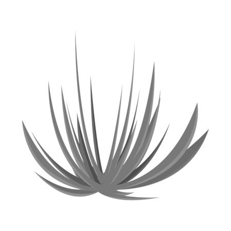 Vektor-Illustration von Grün und Ökologie-Symbol. Set aus grünem und botanischem Vektorsymbol für Lager. Vektorgrafik