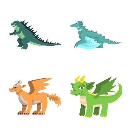 Vector design of creature and animal sign. Set of creature and medieval stock vector illustration.