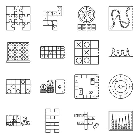 Vector design of puzzle and jackpot icon. Set of puzzle and luck stock symbol for web.