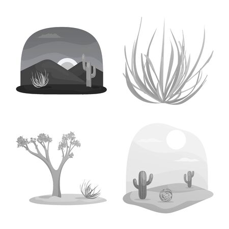 Isolated object of countryside and pasture symbol. Collection of countryside and nature vector icon for stock.