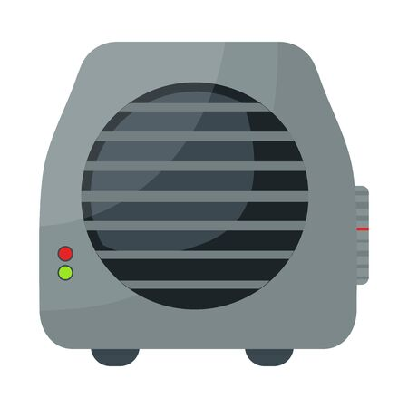 Vector illustration of heater and thermal  . Graphic of heater and room vector icon for stock.