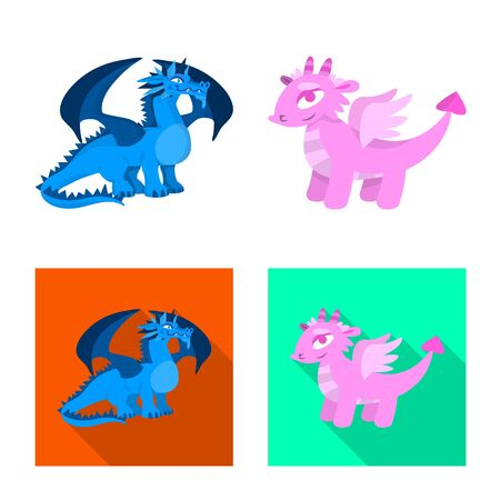 Isolated object of legend and halloween icon. Collection of legend and history vector icon for stock.