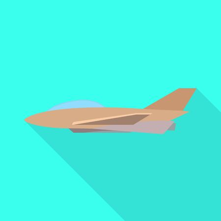 Isolated object of aeroplane and commercial symbol. Collection of aeroplane and tourism stock symbol for web. 向量圖像