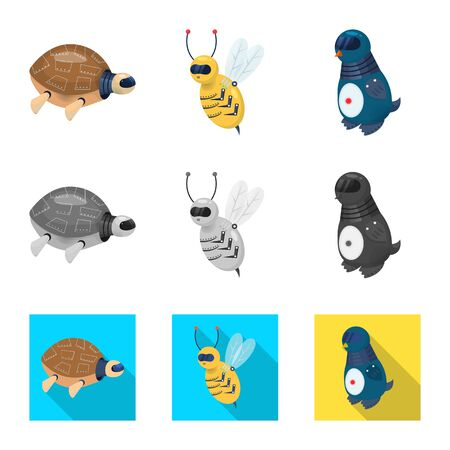 Vector design of toy and science icon. Collection of toy and toy vector icon for stock.