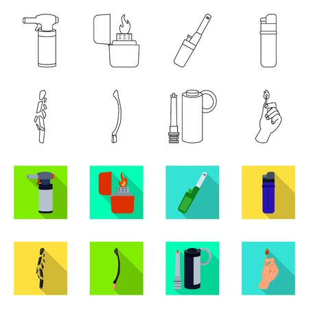 Vector illustration of and icon. Set of and vector icon for stock. Foto de archivo - 133224468