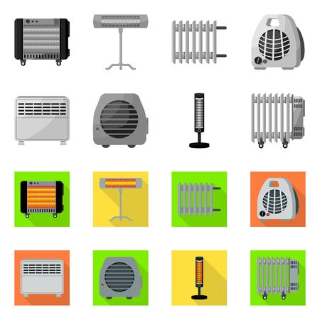 Vector design of household and appliances symbol. household and appliance vector icon for stock.