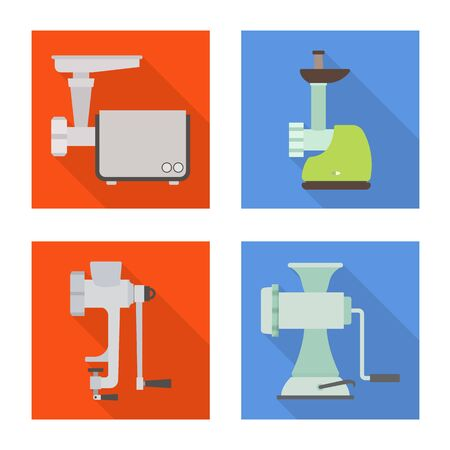 Vector design of technology and kitchen symbol. Collection of technology and device vector icon for stock.