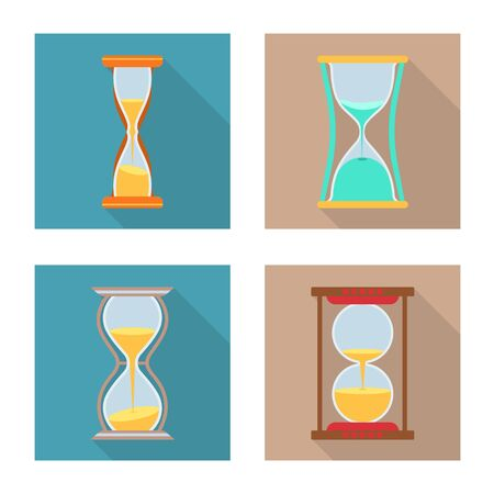 Vector design of counting and instrument icon. Collection of counting and trickle vector icon for stock. Ilustrace